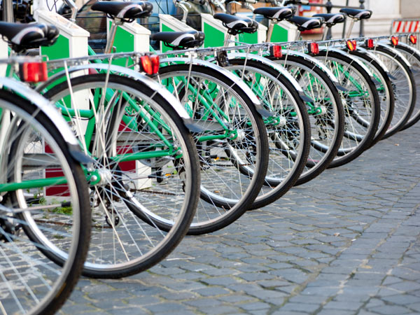 As Philadelphia Bike Share prepares for launch in the fall of 2014, the City of Philadelphia is looking for property and business owners to volunteer their space for bike stations. (iStock)