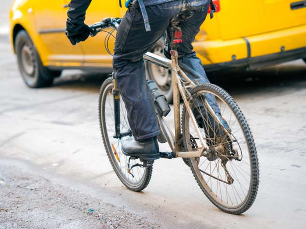 On a bicycle, I have many more positive interactions with motorists than negative ones.