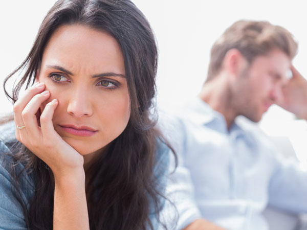 She feels uncomfortable seeing her ex-husband at family gatherings. (iStock photo)