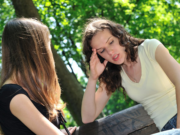 Her friend´s complaints make her want to end the friendship. (iStock photo)