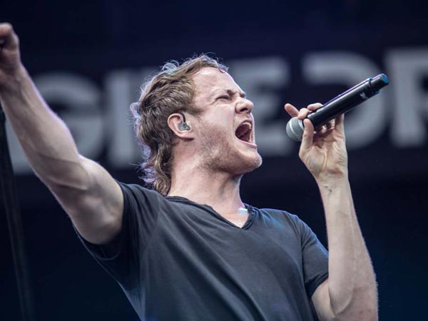 Imagine Dragons performing at the Made in America Festival. (Colin Kerrigan / Philly.com)
