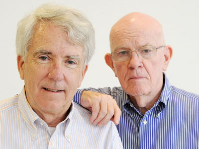 Jim Steele and Don Barlett