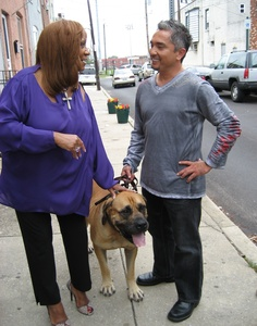 """Dog Whisperer"" Cesar Millan worked wonders with Patti LaBelle's fierce canine, Nasir. The threesome are on tomorrow's episode of Millan's show."