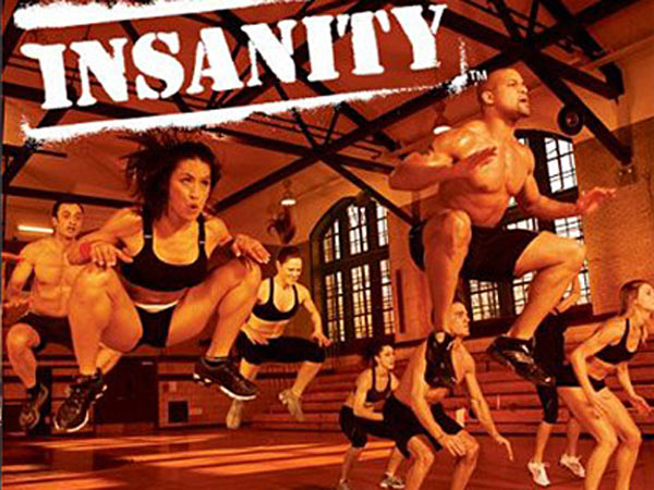 "A still from Shaun Thompson´s popular high-intensity workout ""Insanity."""
