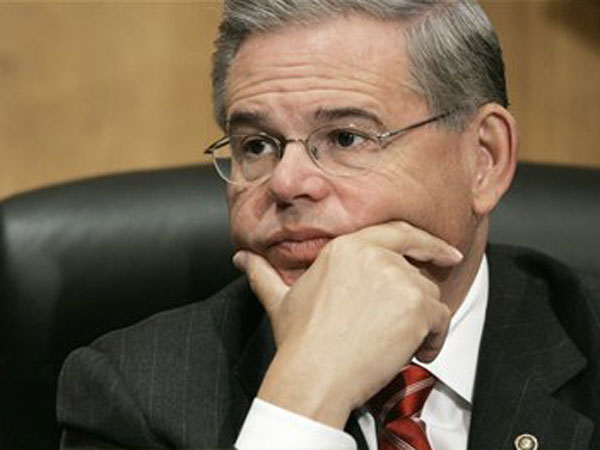 NJ Sen. Robert Menendez employed as an unpaid intern in his Senate office an illegal immigrant and registered sex offender who has now been arrested by immigration authorities, The Associated Press has learned. The Homeland Security Department instructed federal agents to wait weeks and not to arrest him until after Election Day, a U.S. official involved in the case told the AP. (AP Photo/Charles Dharapak)