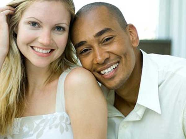 She dated African-American men in the best, and her current boyfriend is not OK with it. (iStock photo)