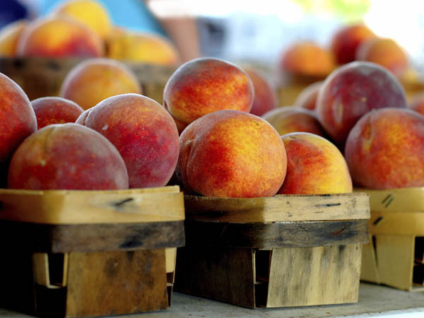 Not one, not two, but three peach festivals are happening this weekend. (iStock Photo)