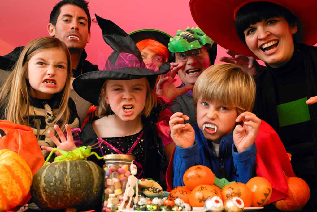 Image result for halloween family