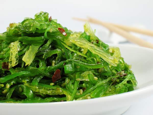 Seaweed salad. iStockphoto