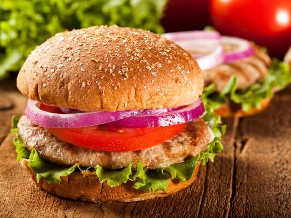 Healthy family recipe: Turkey burgers
