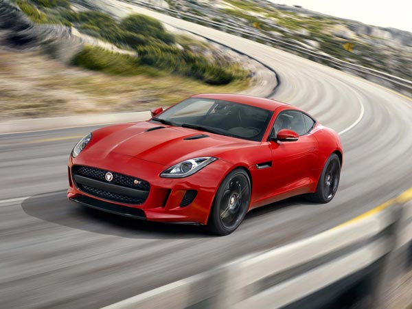 The 2015 Jaguar F-Type S Coupe is a hardtop version of the recently released sports car. (Jaguar/MCT)