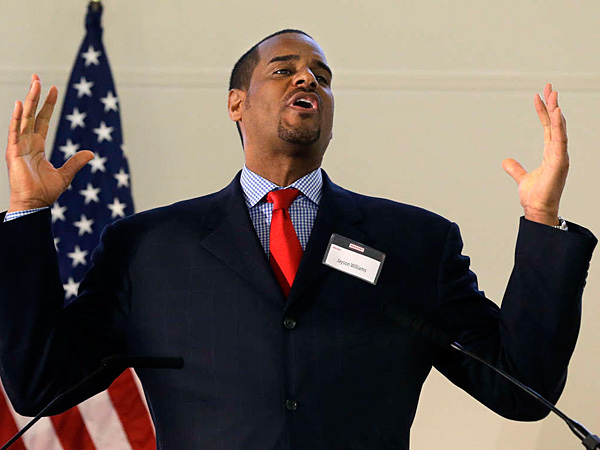Jayson Williams spent time in prison for fatally shooting a chauffeur and drunken driving. He said people who paid to watch him play didn´t want him living nearby. (Mel Evans/AP)