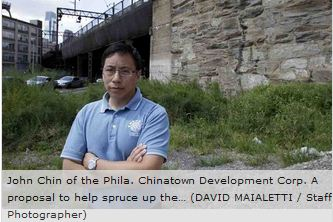 John Chin of a Chinatown agency has doubts about district idea.
