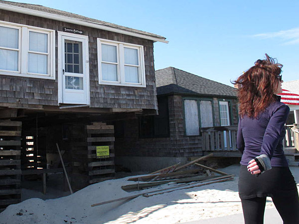 A law passed this week will cap rises in flood insurance premiums, allowing Shore homeowners to invest in repairs.