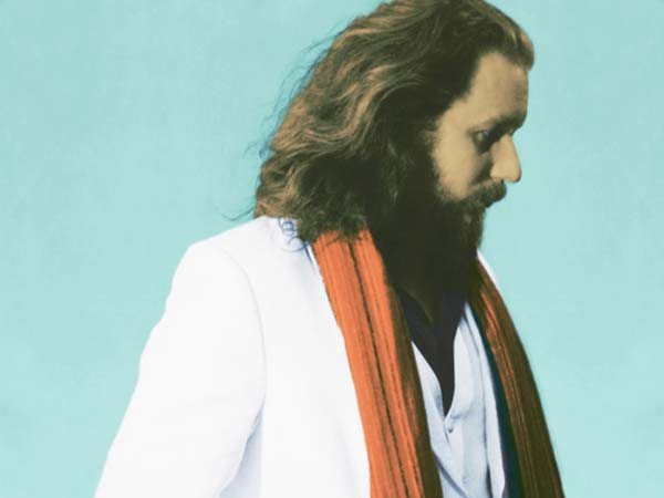 My Morning Jacket frontman Jim James will release his new record, Regions Of Light And Sound Of God, on February 5th. (Photo by Neil Krug)