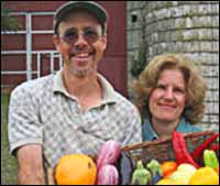 Jim and Sherry of Honeybrook Farm.