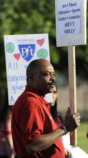 Philadelphia Federation of Teachers president Jerry Jordan. (Clem Murray/staff)