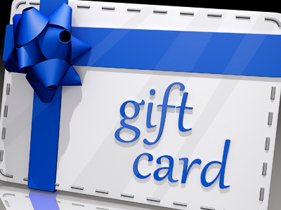 Employees love gift cards because they make them feel appreciated.
