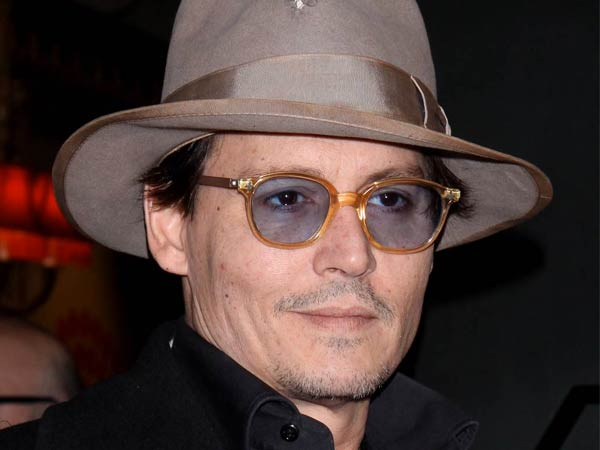 Johnny Depp, Opening night of Broadway´s Cabaret at Studio 54 - Arrivals.