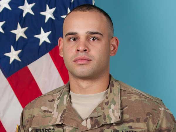 U.S. Army Sgt. Jose Joaquin Suarez