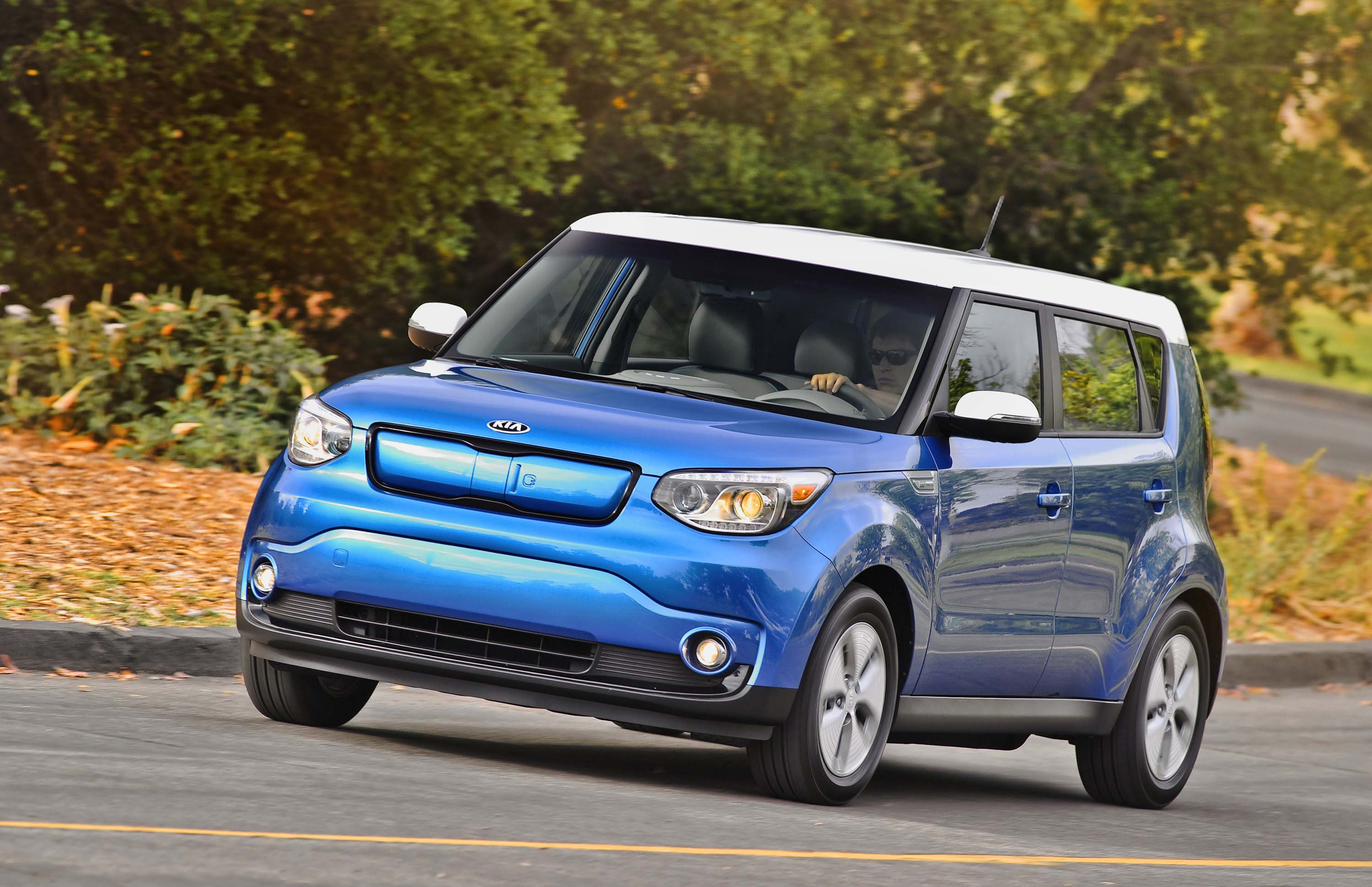 Kia Motors Corp. is recalling 342,381 vehicles in the U.S. for a second time because the first repair may not have solved a steering defect. The recall affects the Soul and Soul EV from the 2014-2016 model years. The 2015 model is shown here.