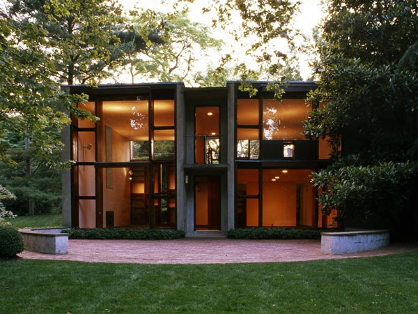 The Esherick House, designed by renowned architect Louis Kahn, is on the market for $1.1 million.