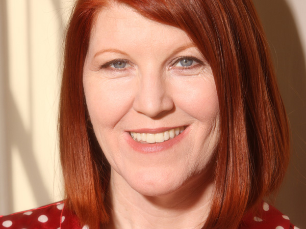 Actress Kate Flannery.