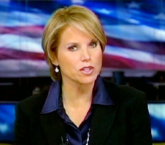 CBS Evening News anchor Katie Couric.