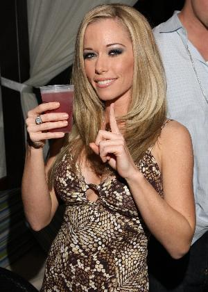 Kendra Wilkinson, one of the stars of ´The Girls Next Door´ and current Playboy Cover Girl, appears at The Pool in Harrah´s Resort on February 16, 2008 in Atlantic City, New Jersey. credit: Tom Briglia/Photographics