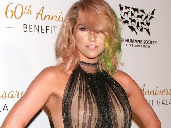 Kesha,Kesha Rose Sebert, Humane Society of the United States Gala 2014