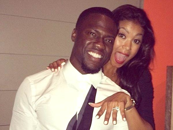Comedian Kevin Hart Proposed To His Friend Model Eniko Parrish Over The Weekend