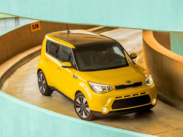 The 2014 Kia Soul has a slighly larger, reshaped body and upgraded interior from its predecessor. (Kia/MCT)