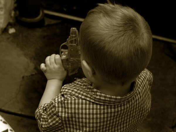 Every day, nine children are accidentally shot by a firearm.