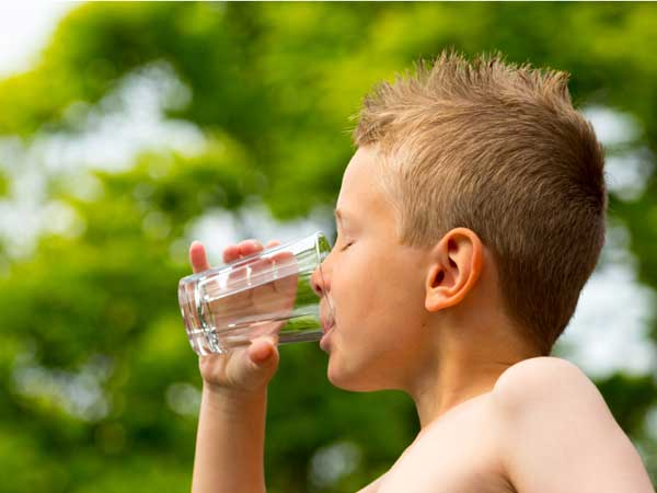 Hot weather puts children at risk for three types of problems, heat stroke, heat exhaustion and heat cramps.