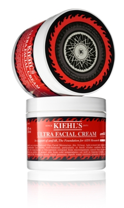 Pictured here: Limited Edition Ultra Facial Cream, 100 percent of the profits will be donated to amfAR. And for every person that walks into the Rittenhouse Square Kiehl´s store, $5 will be donated to amfAR, too.