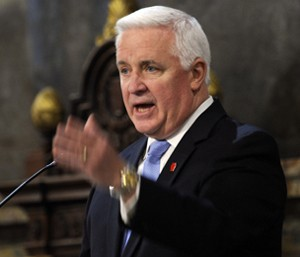 Last week, Gov. Corbett gave his budget address.
