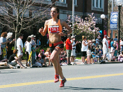 """The first time I ran Philadelphia, my training wasn't where it could be,"" Meredith Lambert admitted. ""Hopefully I'll be better prepared this time."""