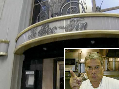 Is the building that houses Le Bec-Fin for sale?  Inset: Georges Perrier, chef-owner of the Philadelphia restaurant that many started the city´s culinary resurgence.
