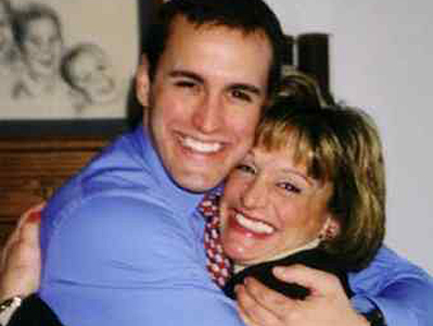 Christopher Bryski and his mother, Diane, in a family photo. Injured in 2004, he died two years later.
