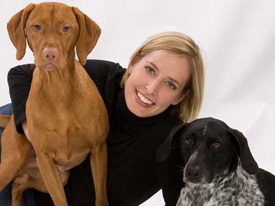 Certified Pet Dog Trainer and Training Director of Opportunity Barks Leigh Siegfried.