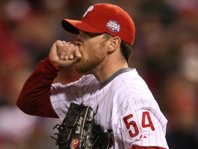 Brad Lidge may not be ready for Opening Day following yesterday´s knee surgery. (Yong Kim/Staff file photo)