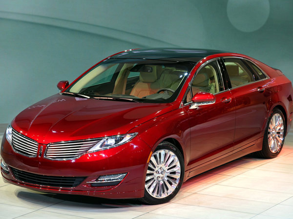 The 2014 Lincoln MKZ is available as a conventional four-cylinder sedan or as a hybrid for the same base price. (MCT)