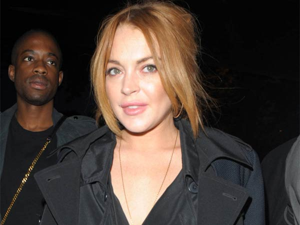 Lindsay Lohan, Lindsay Lohan at No1 Embankment Party
