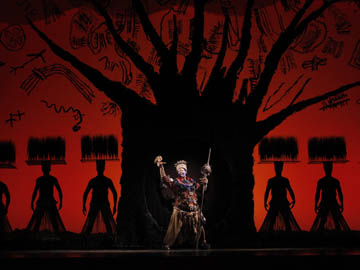 The Tree of Life from THE LION KING National Tour. © Disney<br />Photo: Joan Marcus (photo courtesy of the Kimmel Center)