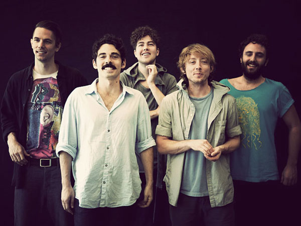 Local Natives play a sold out show at Union Transfer on Thursday, April 4th.