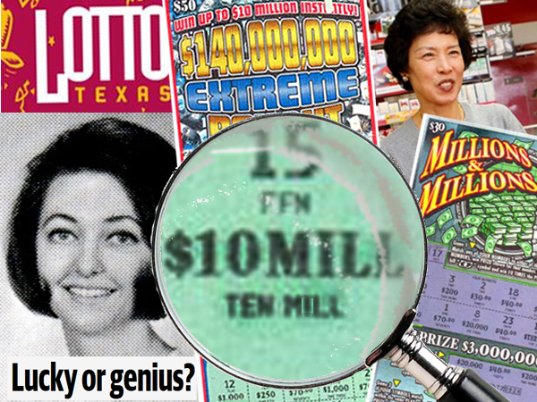 It´s easier to get a copy of the ticket that won Joan Ginther $10 million in 2010 than a photograph of her.  At left is how she appeared in the 1969 University of Texas yearbook. At right is Sun Bae, the retailer who sold Ginther two of her four tickets that won millions.