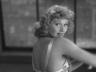 "Lucille Ball as ""Tiger Lily"" White in ""Dance, Girl, Dance"""