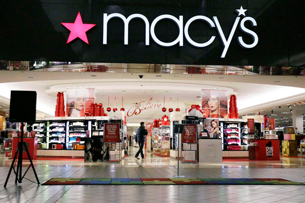 File photo: The Macy´s location in the Moorestown Mall.