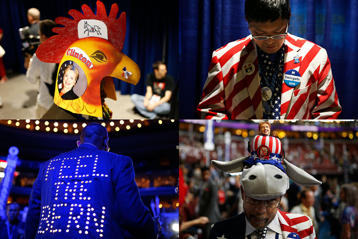 Delegate decor in photos - Philly