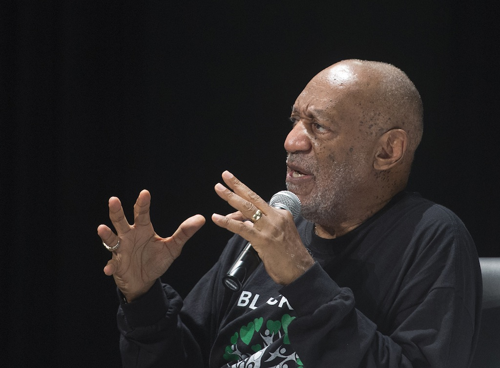 Bill Cosby says he still has lots of ideas for television projects. Later yesterday, he spoke to high school students in Selma, Ala.